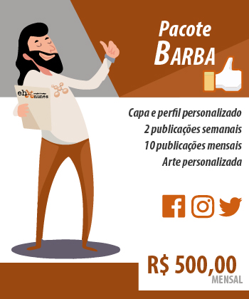 Pacote Redes Sociais - Barba - Ehnunes Criação & Design
